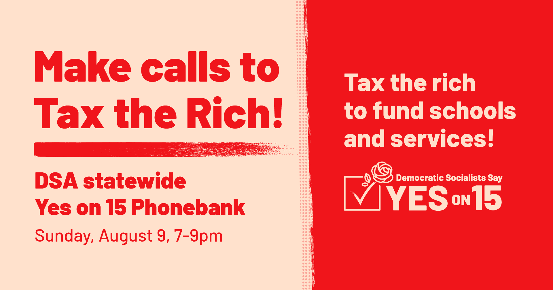 Yes on 15 - Phonebank