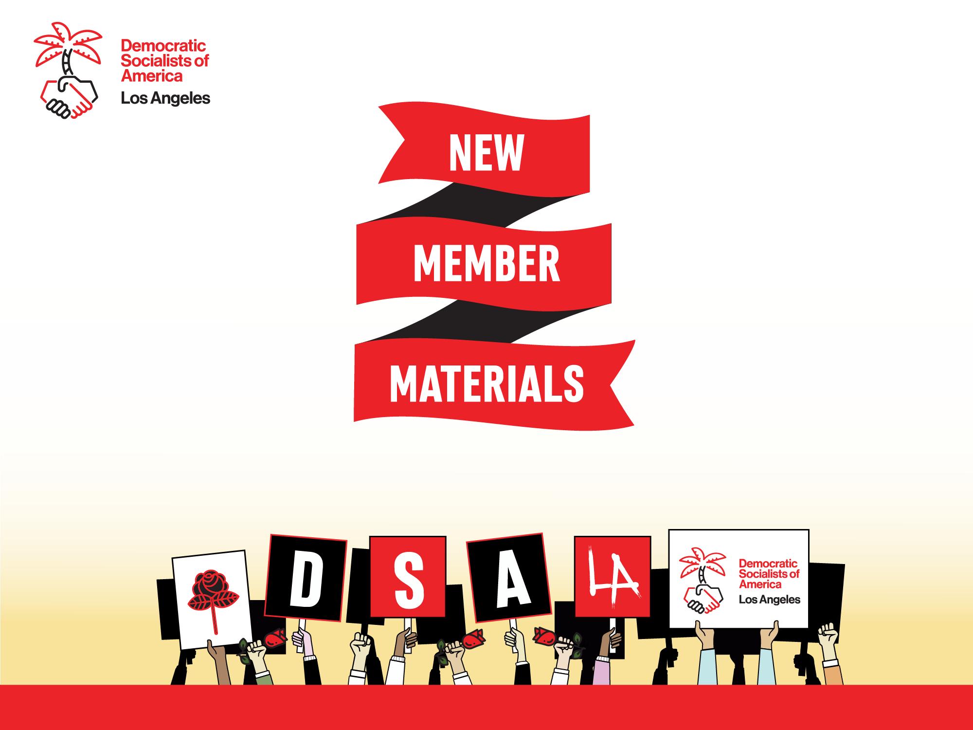 New Member Materials