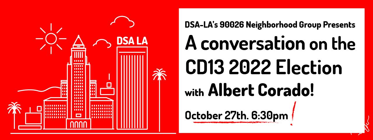 DSA-LA 90026 Neighborhood Conversation