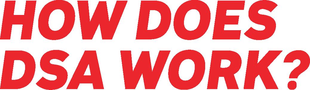 How Does DSA Work?